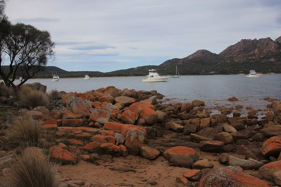 Freycinet, Australien: View from the Boat Ramp