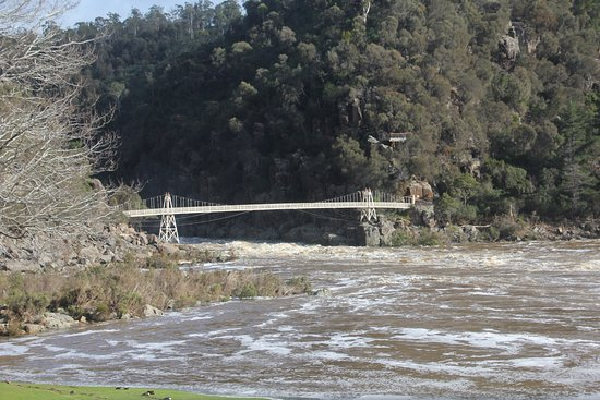 Launceston, Australia: Suspension Bridge - Cataract Gorge