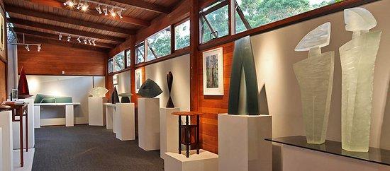 Pemberton, أستراليا: Wood & Art Glass Studio & Gallery in Pemberton