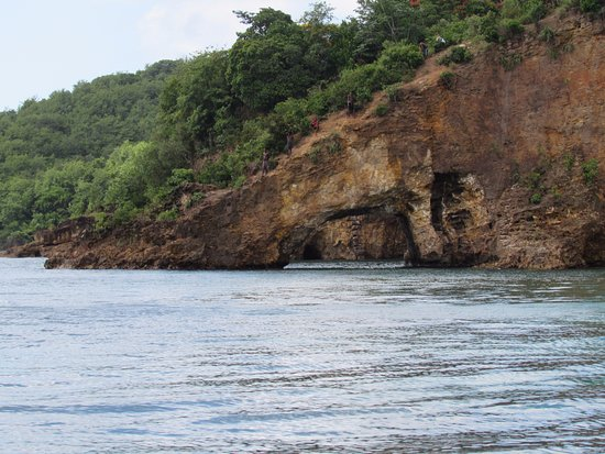 Son of Man Sea Tours: Cave featured in Pirates of the Caribbean