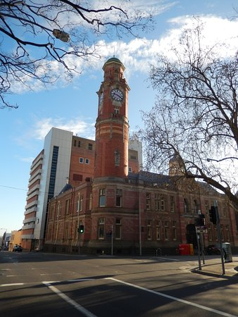 Launceston Clock Tower from St John Street