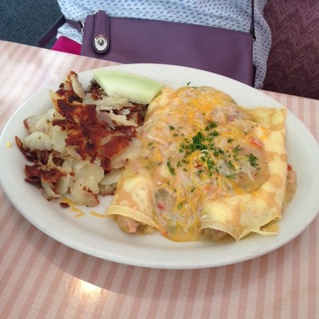 Cottonwood, AZ: Green Chile Crepes
