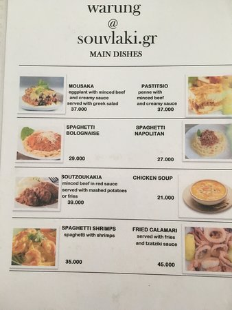 Price List 1 Aud Was Around 9800 Indonesian Rupiah Picture Of