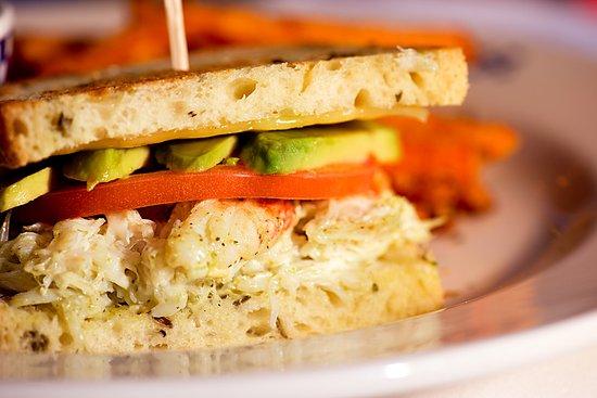 Kent, WA: Duke's Dungeness Crab Club Sandwich