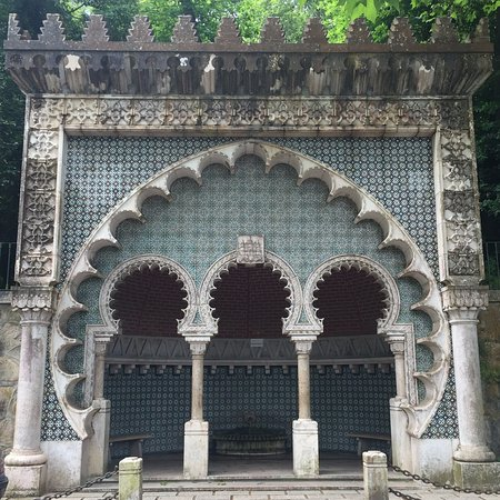 Sintra Municipality, Portekiz: Moorish Fountain in Sintra