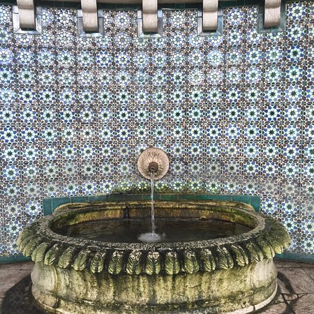 Sintra Municipality, Portekiz: Geometric patterns of the Moorish fountain