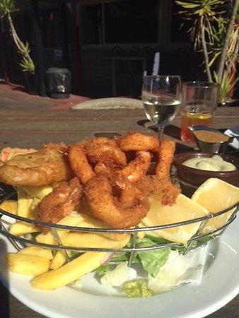 Wisemans Ferry, Avustralya: Seafood basket