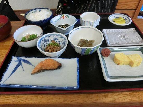 Rishirifuji-cho, Japan: 朝の食事