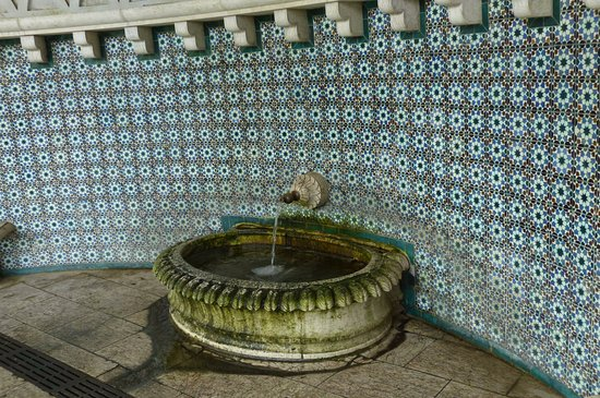 Sintra Municipality, Portekiz: Moorish Fountain interior