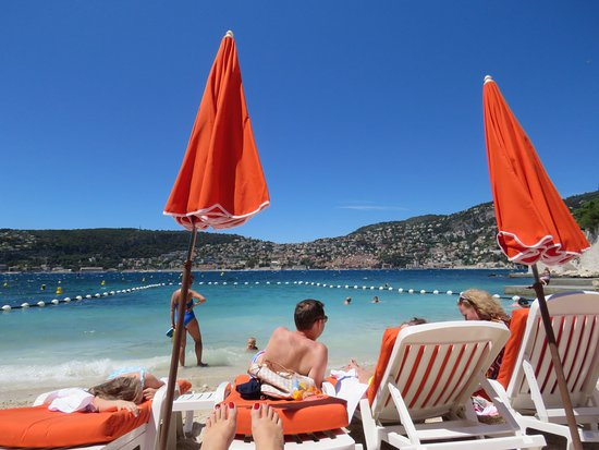 Plage De Pable Nice Beach Chairs We Used Free Of Charge