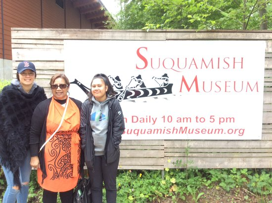 Suquamish, WA: A indigenous experience arriving on native reserve May 2016.