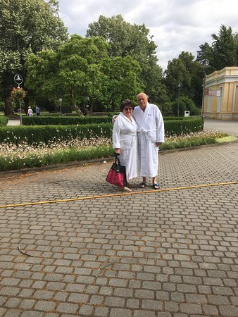 Piestany, Slovakia: Photos between treatments