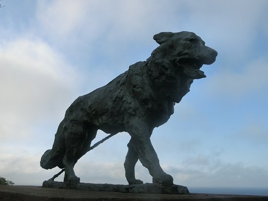 Sakhalin Dog Memorial Tower