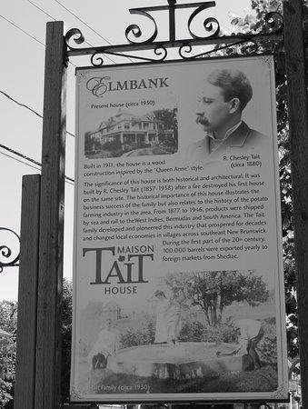 Maison Tait House: Histoire de la maison Tait