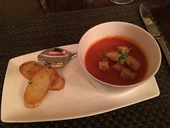 17 at Alden-Houston: Smokey Tomato Soup YUMZ