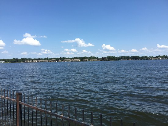 Montgomery, TX: Beautiful view of the lake!