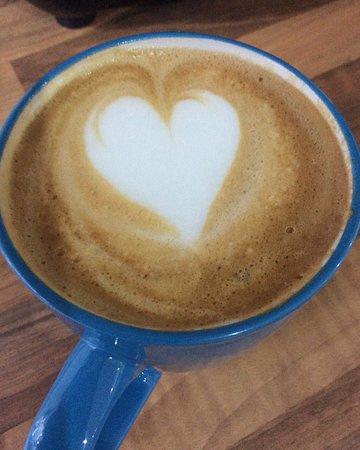 Launceston, UK: Gotta love great coffee