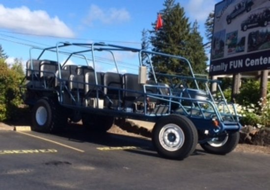 Florence, OR: The GIANT Dune Buggy -- Try to sit in front!