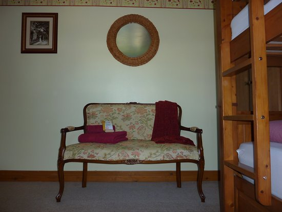 Nantwich, UK: Cabin Room seating