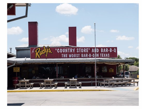 Right Next To The Gas Station Picture Of Rudy S Barbecue