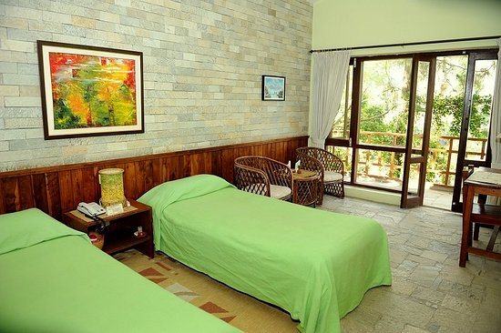 Mum's Garden Resort: Twin Bed room