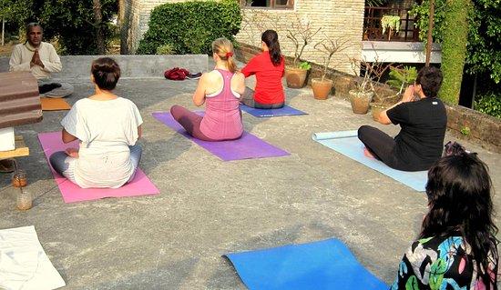 Mum's Garden Resort: Yoga Class