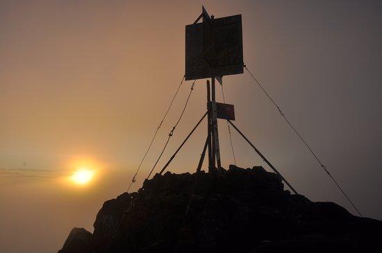 Mount Hagen, Папуа – Новая Гвинея: Summit @ approx. 6h20 AM