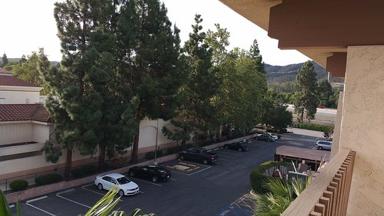 View from My Room at Best Western Plus Thousand Oaks Inn