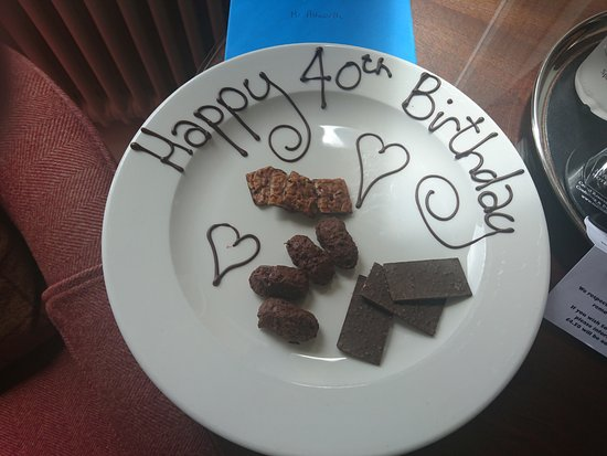 Standish, UK: Lovely touch from the hotel
