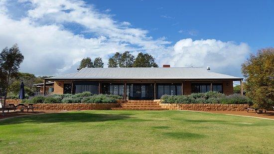 Geraldton, Australia: View of the cafe