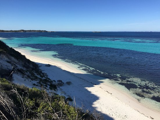 Rottnest Island, Avustralya: Beautiful..and the was mid Winter