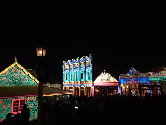 Ballarat, Australia: Christmas in July Lights