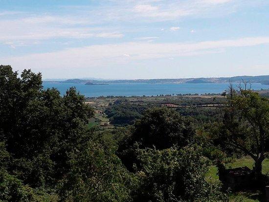 San Lorenzo Nuovo, إيطاليا: Panorama a pochi metri dal locale....