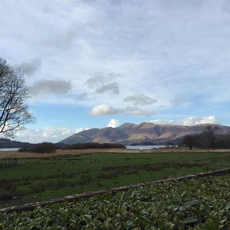 Borrowdale, UK: View from hotel