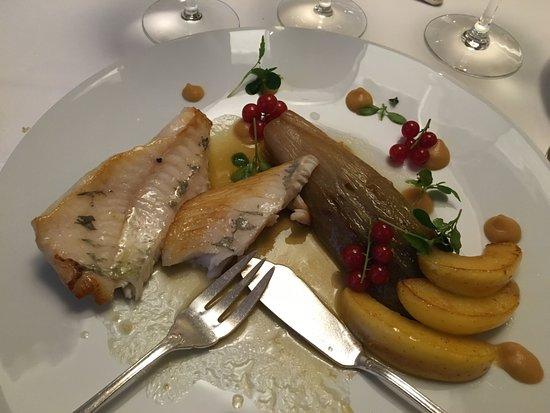 Mery sur Oise, France : filet de poisson