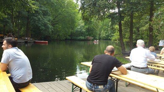 Cafe am Neuen See, Biergarten: Neuen See
