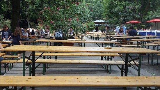 Cafe am Neuen See, Biergarten: Biergarten, Cafe am Neuen See