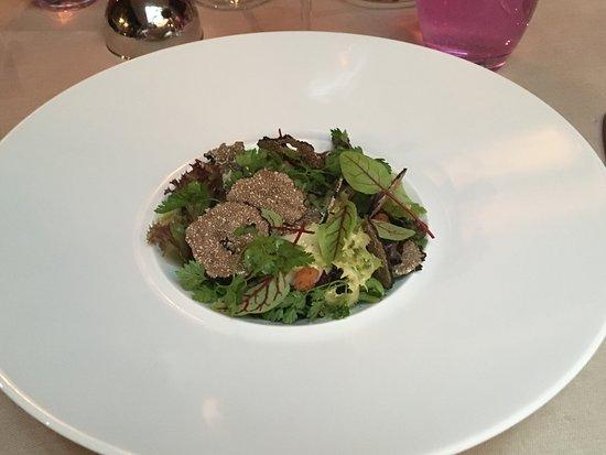LE KELLER : Salade aux copeaux de truffes