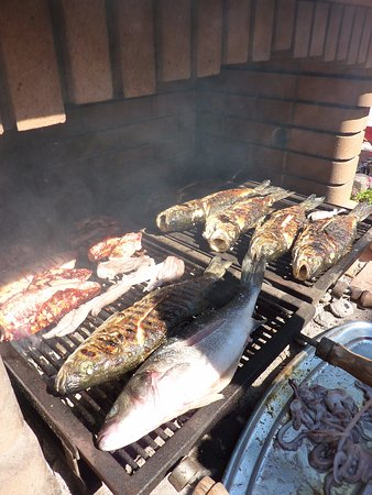 Sali, Хорватия: grill