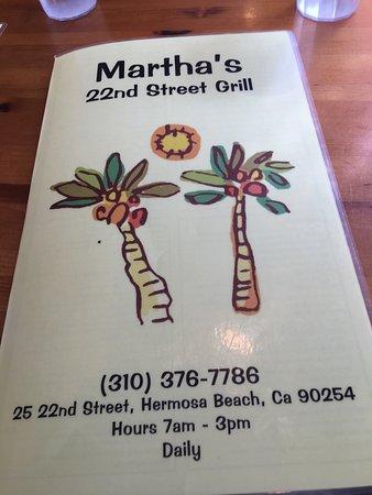 Hermosa Beach, CA: Ok!!  I started enjoying breakfast before my pic.  Who can blame me?