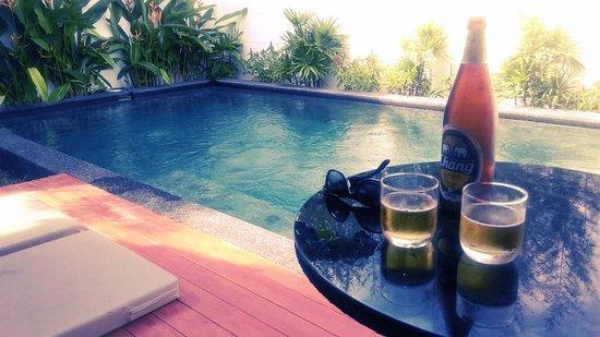 L'esprit de Naiyang Resort: Private pool