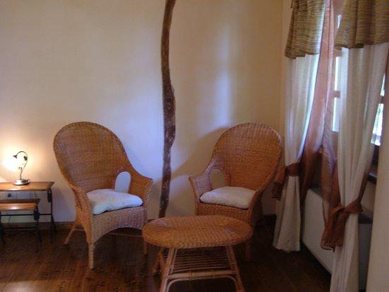 Pocapaglia, إيطاليا: camera edera