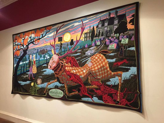 Worcester, UK: Tapestries Grayson Perry