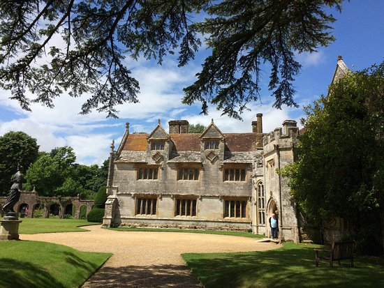 Dorchester, UK: In the gardens at Athelhampton House