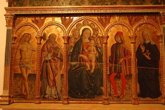Montefalco, Italia: Monfefalco museo civico di san Francesco