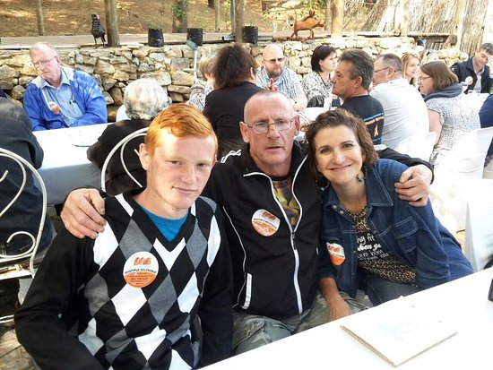 Midrand, Afrique du Sud : friends Jackie and family joined us