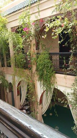 Riad Dar Anika: Upper terrace
