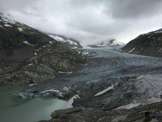 Gletsch, İsviçre: Rhone glacier