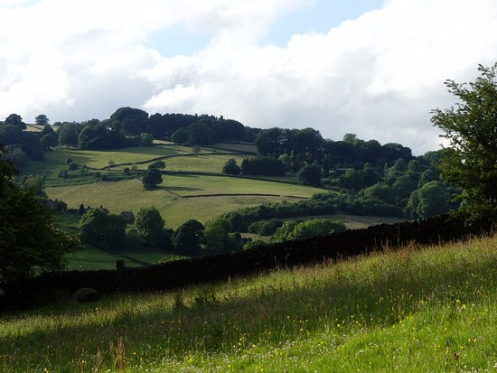 Hope Valley, UK: View from Moorlands Farm