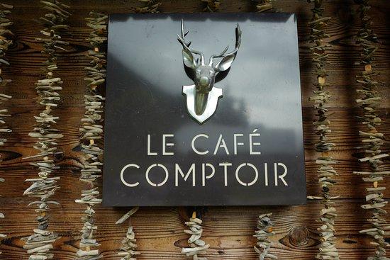 Vallorcine, France : Le Café Comptoir